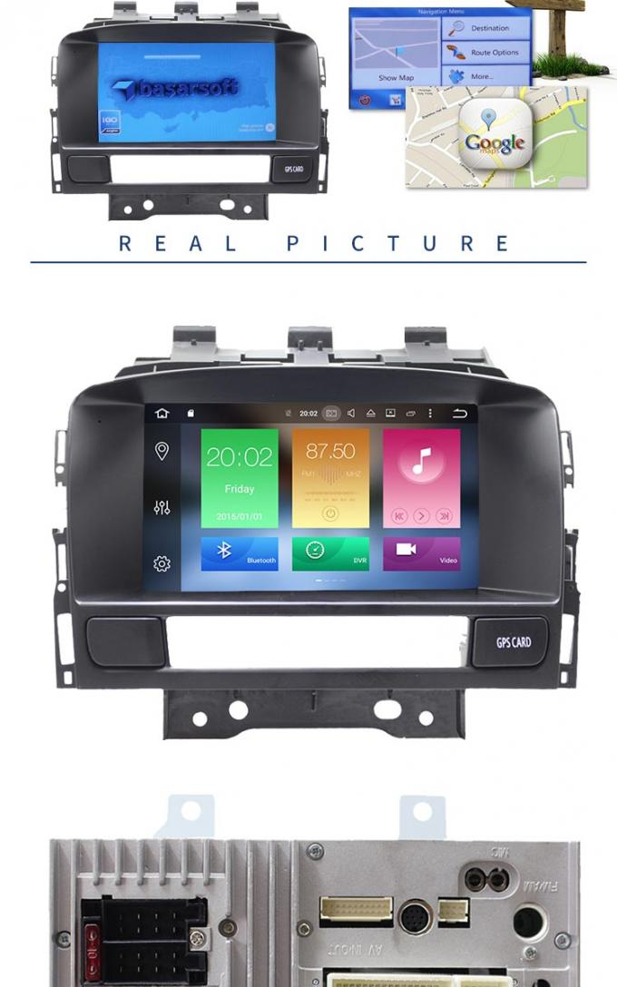 Original Front Panel Opel Astra Multimedia System With 3g Wifi BT AM FM