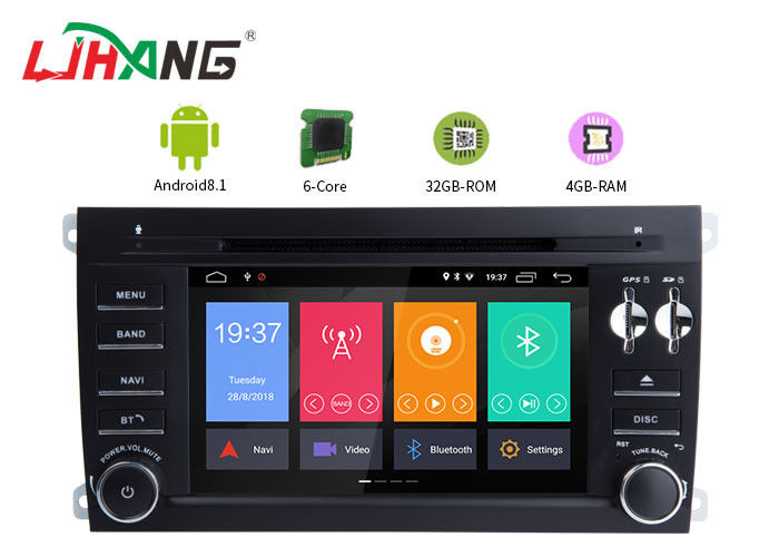 Android 8 1 Porsche Cayenne Android Touch Screen Car Radio Free Map Card