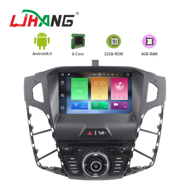 Android 8.0 Multimedia Ford Car DVD Player For FOCUS 2012 LD8.0-5712