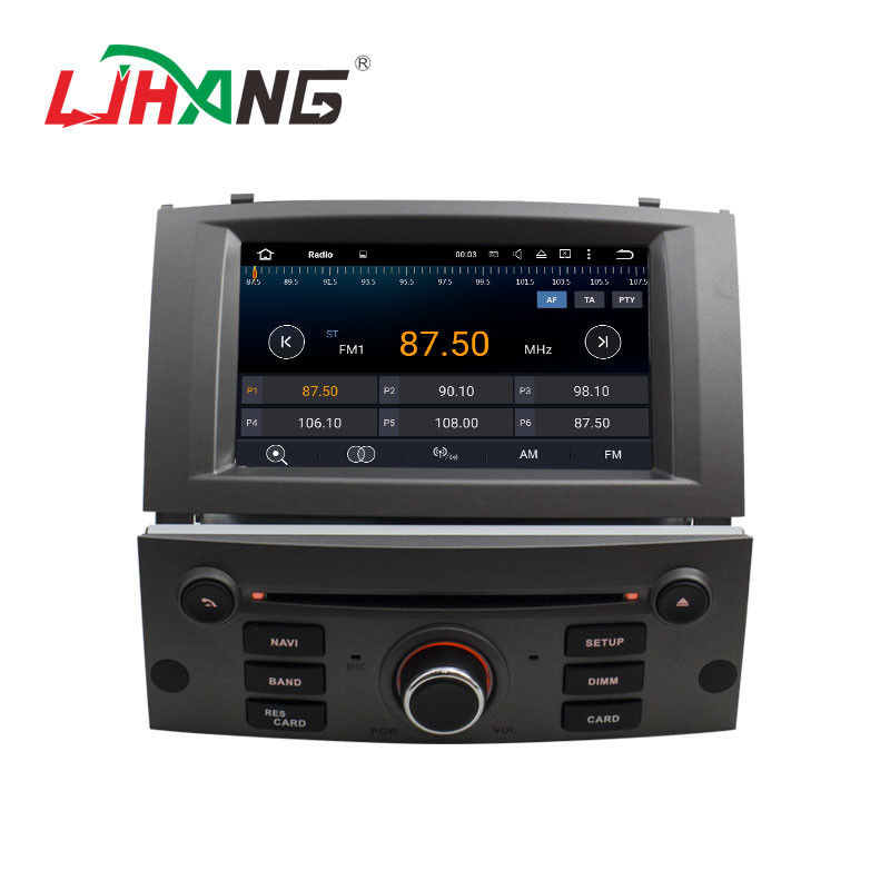 Android 7 1 7 Inch Peugeot DVD Player PX3 4Core With AUX-IN Map GPS