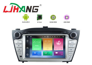 China Android 8.0 Hyundai Car DVD Player With Muti Language SD FM MP4 USB AUX factory