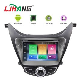 I35 Android 8.0 Hyundai Car DVD Player Dashboard With Steering Wheel Control