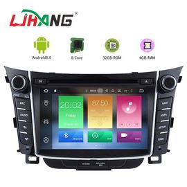 China 7 Inch Touch Screen I30 Hyundai Car DVD Player Android 8.0 With BT WIFI factory