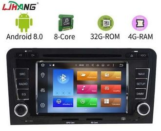 Touch Screen Gps Android Audi Car DVD Player With Bluetooth Playstore