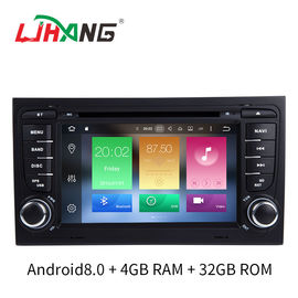 China Multi Language SD FM MP4 Audi Car DVD Player 32 GB Mirror Link Supported factory