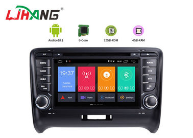 Android 8.1system Audi Dvd Player , Ublox 6 Android Car Dvd Player Gps Navigation