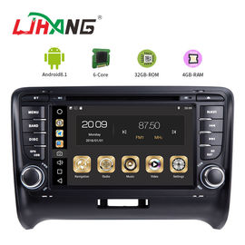 China Steering Wheel Control Audi In Car Dvd Player , Audi TT Car Dvd Player Gps Navigation factory