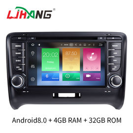 China 7 INCH Audi A4 Dvd Player , BT WIFI Dvd Player ST TDA7388 For Android factory