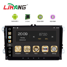 China Android 8.1 Car Dvd Player For Volkswagen Canbus Radio GPS 3G WIFI USB Map factory