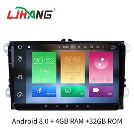 "China Android 8.0 B6 Jetta Volkswagen DVD Player 9"" Screen Steering Wheel Control factory"