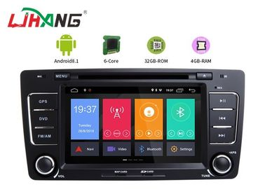 Skoda Octavia Vw Dvd Player , Vehicle Dvd Player With BT Canbus Rear Camera