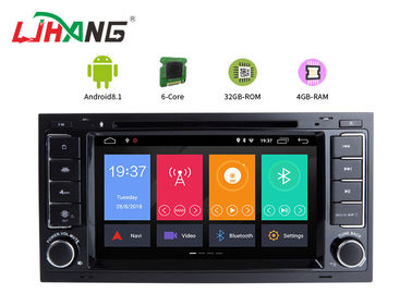 Android 8.1 VW Touareg Volkswagen DVD Player With Wifi BT GPS AUX Video