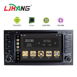 China Stereo Audio Vw Golf Dvd Player , Multimedia Mirror Link In Dash Car Dvd Player factory