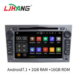 7 Inch Touch Screen Opel Car Radio DVD Player Bluetooth Supported For Zafira Antara