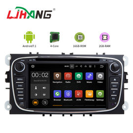 China WIFI IPOD USB AUX Car Dvd Player For Ford Focus Touch Screen Humanization Design factory