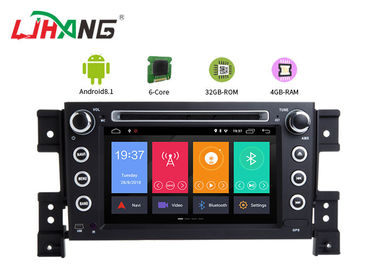 China GPS Navigation SUZUKI Car DVD Player Bluetooth - Enabled PX6 RK3399 Cortex-A72 Eight Core factory