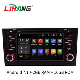 China 2GB RAM A6 Audi Car DVD Player GPS Navigation System With SD USB Radio Mirror Link factory