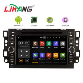 9 Inch Head Unit Chevrolet Car DVD Player GPS Navigation With Free Map Card