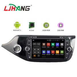 China 7 Inch Car Stereo That Works With Android , KIA CEED Bluetooth DVD Player For Car factory