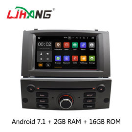 Android 7.1 7 Inch Peugeot DVD Player PX3  4Core With AUX-IN Map GPS