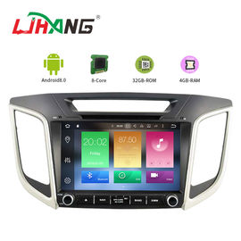 China AUX Video Hyundai Santa Fe Dvd Multimedia System PX5 Quad Core 8*3Ghz factory